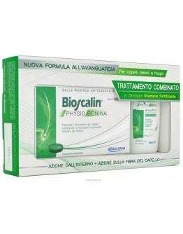 BIOSCALIN PHYSIOGENINA 30 COMPRESSE+ SHAMPOO FORTIFICANTE 200ML
