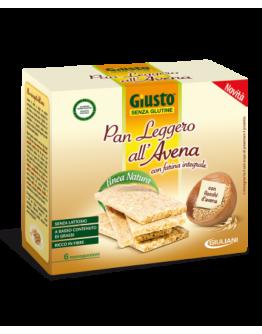GIUSTO PANE LEGGERO AVENA SENZA GLUTINE 6x25G