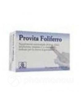 ABBATE GUALTIERO srl PROVITA Foliferro Integratore  30 Compresse