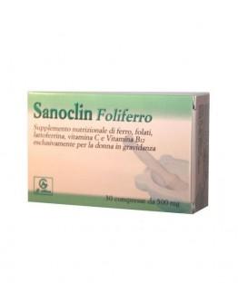 ABBATE GUALTIERO srl SANOCLIN Foliferro 30Compresse da 500mg