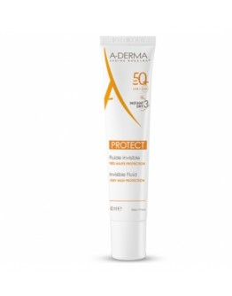 ADERMA PROTECT AD FLUIDO INVISIBILE 50+ 40ML