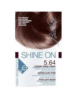 BIONIKE SHINE ON HS CASTANO CHIARO TIZIANO 5.64 TRATTAMENTO COLORANTE CAPELLI