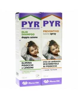 PYR OLIO SHAMPOO+SPRAY PREVENZIONE+PETTINE