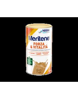 NESTLE MERITENE FORZA E VITALITA' POLVERE GUSTO CAFFE' INTEGRATORE DI PROTEINE VITAMINE E MINERALI 270G