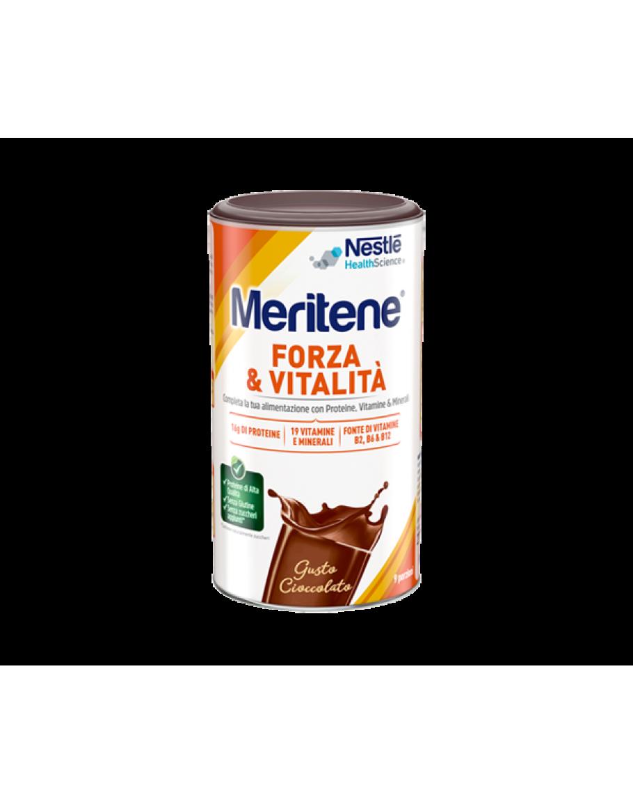 best place wide varieties half off NESTLE MERITENE FORZA E VITALIT' POLVERE GUSTO CIOCCOLATO INTEGRATORE DI  PROTEINE VITAMINE E MINERALI 270G