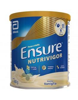 ABBOTT srl ENSURE NUTRIVIGOR Integratore Alimentare Gusto VANIGLIA 400g