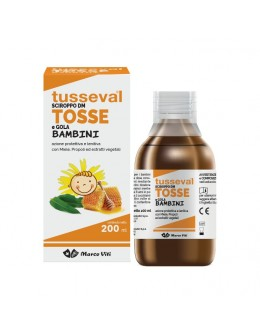 TUSSEVAL SCIROPPO TOSSE BAMBINO 200ml