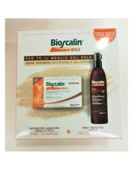 BIOSCALIN BENESSERE SOLE 60 COMPRESSE + SPRAY CAPELLI 100ML