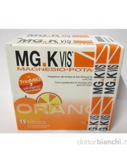 POOL PHARMA MGK VIS ORANGE MAGNESIO E POTASSIO 15+15 BUSTINE