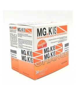 POOL PHARMA MGK VIS ORANGE MAGNESIO E POTASSIO ZERO ZUCHERI 30+15 BUSTINE