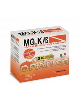 POOL PHARMA MGK VIS ORANGE MAGNESIO E POTASSIO ZERO ZUCCHERI 15 BUSTINE