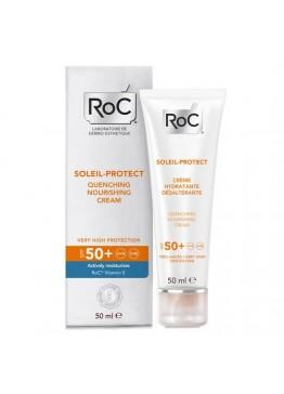 Roc Solari  Soleil Protect + Crema Viso Nutriente SPF50+