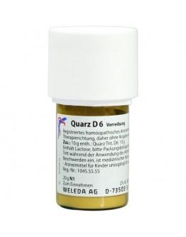 WELEDA Quarz D6 Triturazione 20g