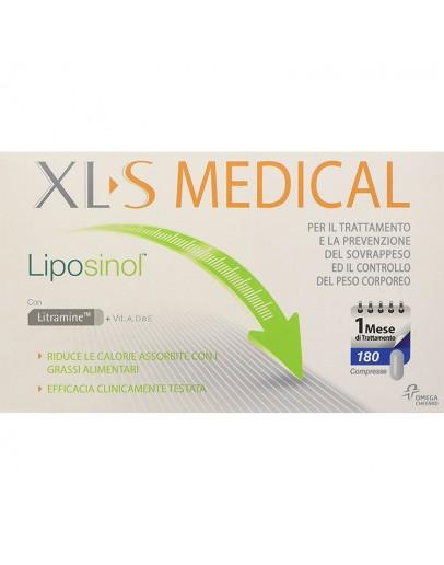PERRIGO XLS MEDICAL LIPOSINOL 1 MESE DI TRATTAMENTO INTEGRATORE ALIMENTARE 180 COMPRESSE