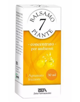 BALSAMO 7 PIANTE CONCENTRATO PER AMBIENTI AGRUMATO FRIZZANTE 30ML