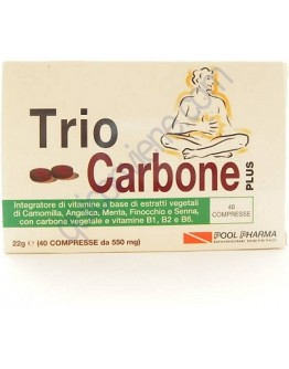POOL PHARMA TRIOCARBONE PLUS 40 COMPRESSE