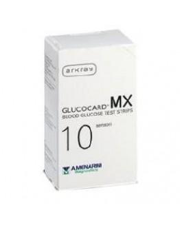 A. MENARINI DIAGNOSTICS GLUCOCARD MX BLOOD GLUCOSE 10 PEZZI