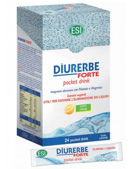 ESI spa DIURERBE FORTE 24 POCKET DRINK LIMONE