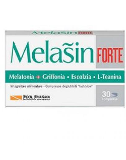 POOL PHARMA MELASIN FORTE A BASE DI MELATONINA 1MG 30 COMPRESSE