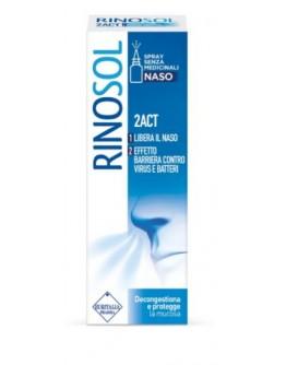 ABOCA PLANTA MEDICA RINOSOL 2ACT SPRAY NASALE 15ML