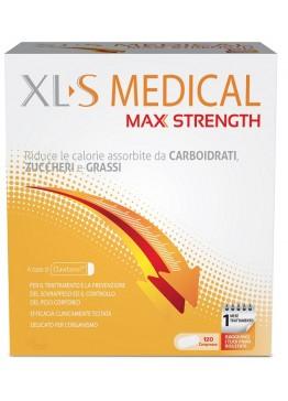 PERRIGO XLS MEDICAL MAX STRENGTH INTEGRATORE ALIMENTARE 120 COMPRESSE