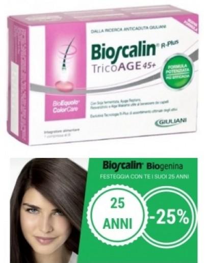 BIOSCALIN TRICO-AGE 45+ 30 COMPRESSE