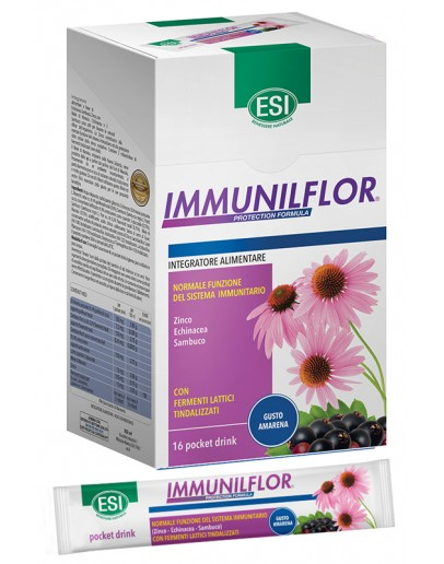 ESI IMMUNILFLOR INTEGRATORE ALIMENTARE 16 POCKET DRINK