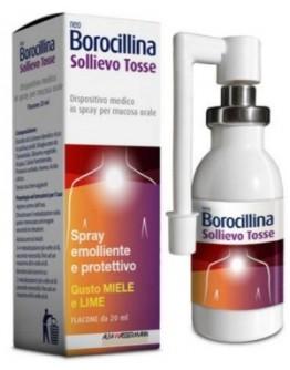 ALFASIGMA NEOBOROCILLINA Sollievo Tosse Spray 20ml