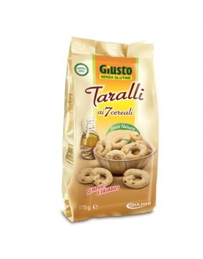 GIUSTO TARALLI AI 7 CEREALI SENZA GLUTINE 175G