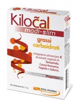 POOL PHARMA KILOCAL MODI SLIM GRASSI CARBOIDRATI 30 COMPRESSE