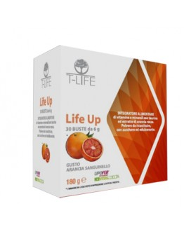 + T-LIFE srl LIFE UP INTEGRATORE ALIMENTARE 30 BUSTINE 6G