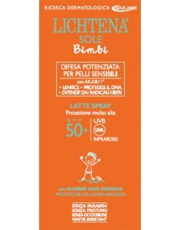 LICHTENA SOLE PEDIATRICO LATTE SPRAY BIMBI SPF50+