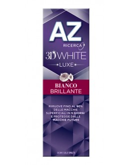 AZ Dentifricio 3D White Luxe Bianco Brillante 75ml